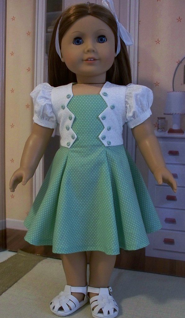 Zig Zag Bodice Frock For Emily Eve Coleman Flickr