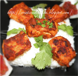 Tandoori Paneer with a Twist Creative Sanyukta | by CinnamonKitchn