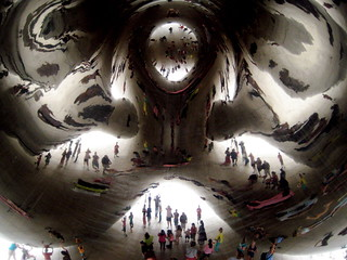 Underneath Cloud Gate | by rkramer62
