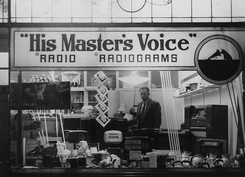 hmv stockists in Australia - Gardenvale Radio - unknown location 1940s