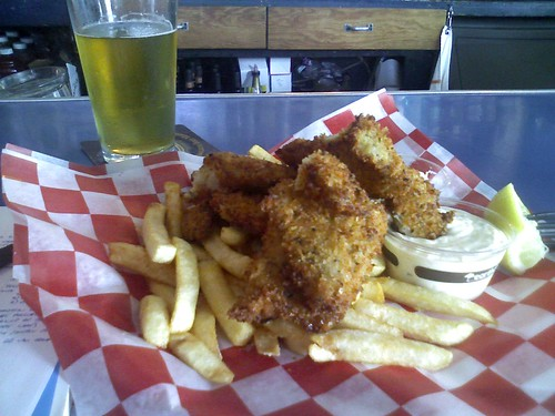Fish and chips at the Pacific Inn | by looey