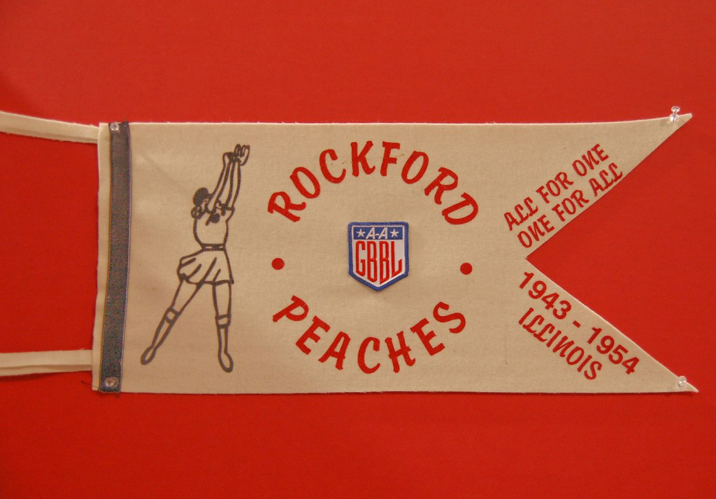 rockford peaches pennant allamerican girls professional