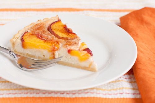 Fredericksburg Peach Cream Cheese Tart | by TheBrewer&TheBaker