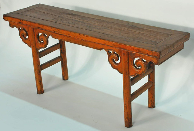 Cn1050y Chinese Antique Bench Flickr Photo Sharing