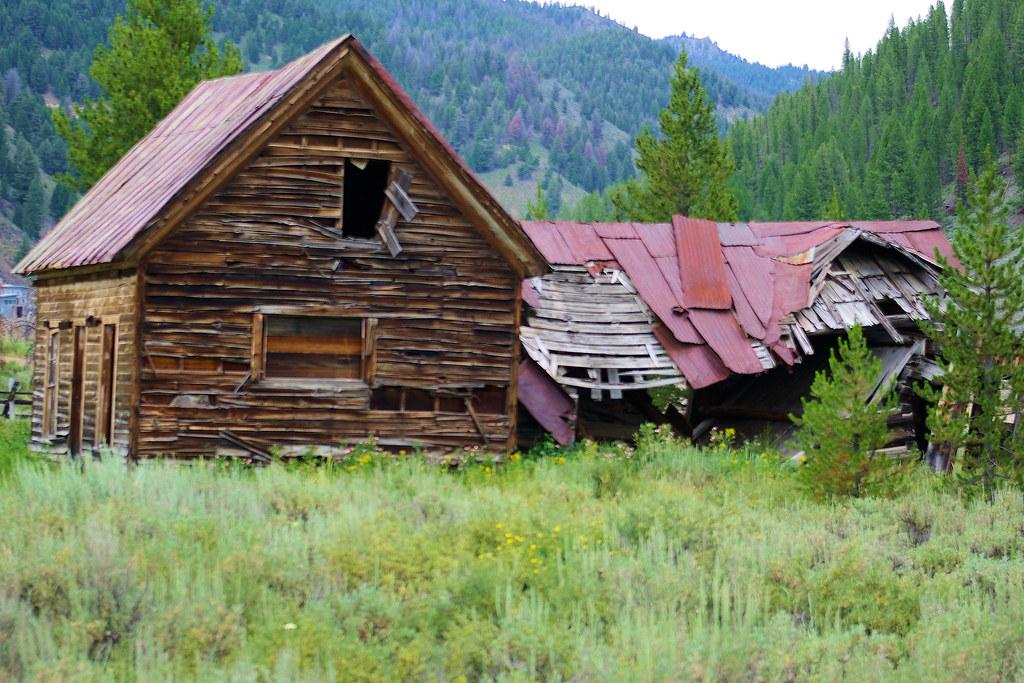Photo Favorite: Old ghost town building, Bonanza City, Idaho, September 26, 2011