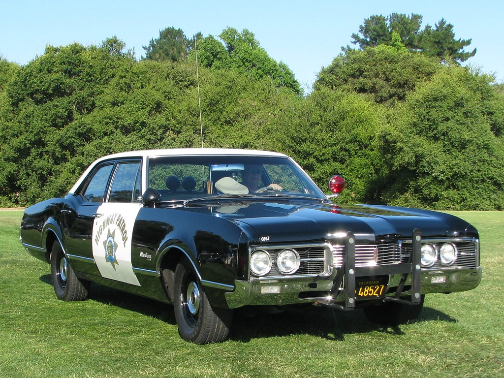 1967 Oldsmobile Delmont 88 California Highway Patrol