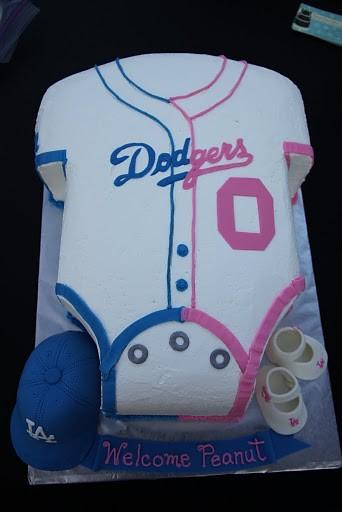 Dodger Baby Shower Cake Pic4 Dodger Babyshower Cake Paren Flickr
