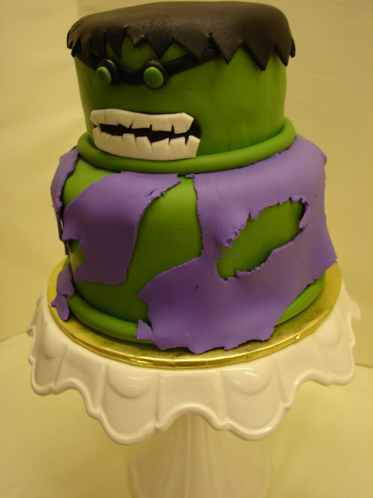 Incredible Hulk Birthday Cake Incredible Hulk Birthday