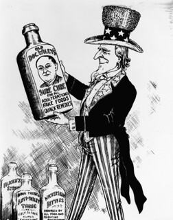 FDA History - Sure Cure Cartoon | by The U.S. Food and Drug Administration