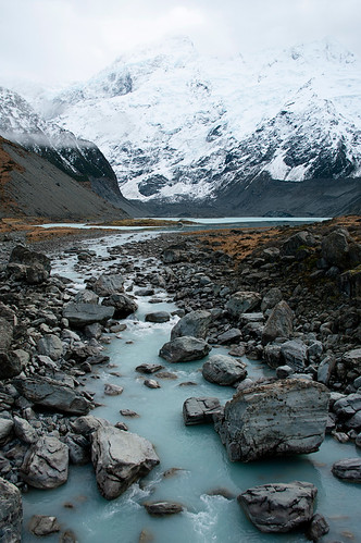 New Zealand glacial river | by borealnz