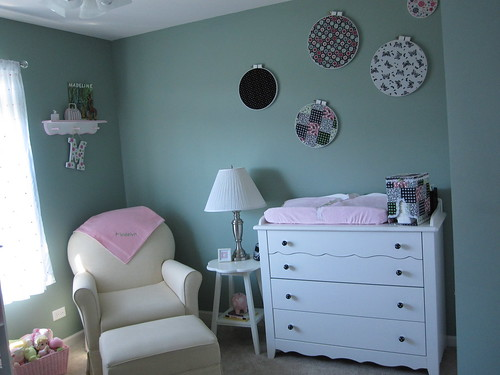 Nursery-Rocker and Changing Table | by Magpie372