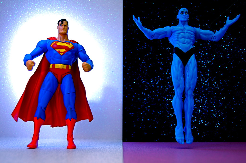 superman vs doctor manhattan 231365 superman kalel