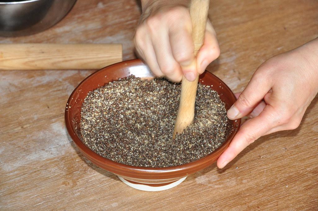 Crushing Shiso Seeds, Gohei Mochi | Bryce Garner | Flickr