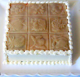 Marzipan Apricot Cake British Bake