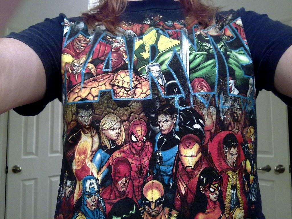 Marvel Superheros t-shirt from Universal Studios Orlando ...