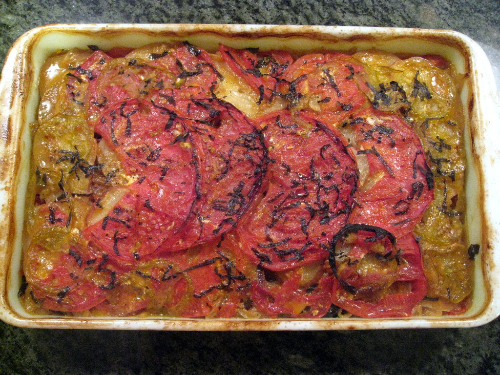 spiced potato and tomato gratin, from 101 cookbooks. www.… | Flickr