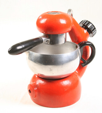 Atomic Coffee Maker How To Use : RED painted atomic coffee maker An Italian made Atomic ...