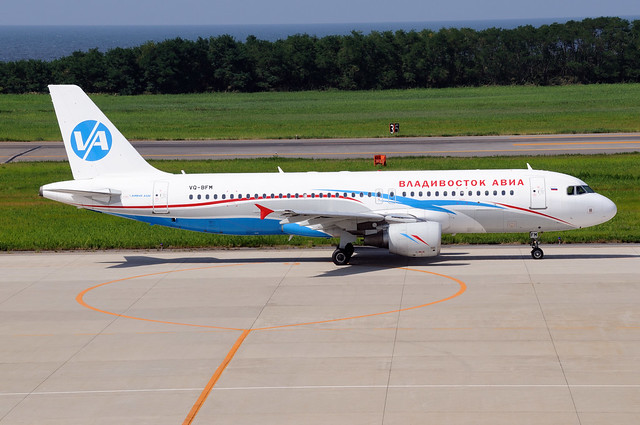Vladivostok Air Airbus A320-214 (VQ-BFM/1379)