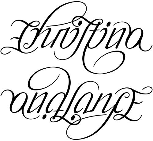 christina name tattoo - photo #48