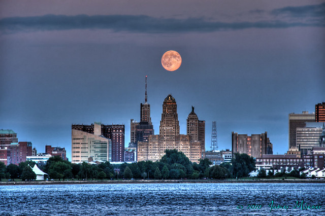 Downtown Buffalo Skyline Hdr 2 Flickr Photo Sharing