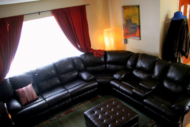 meet the mega couch we needed a big but space friendly. Black Bedroom Furniture Sets. Home Design Ideas