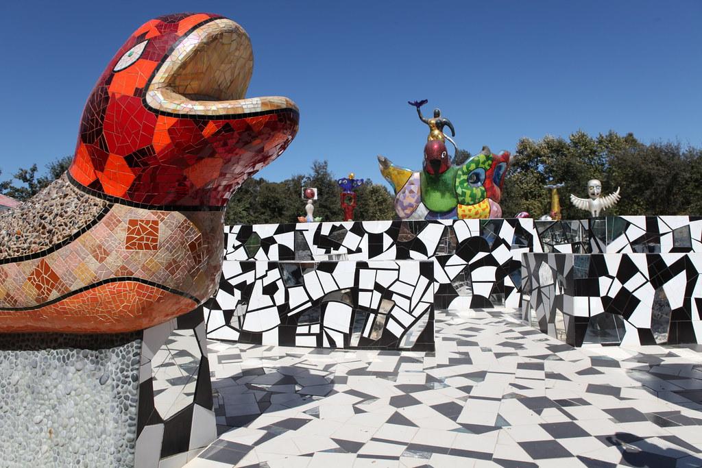 Queen Califia 39 S Magic Circle Garden Niki De Saint Phalle E Flickr