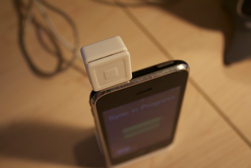 Square Reader + iPhone 3G | by @cdharrison