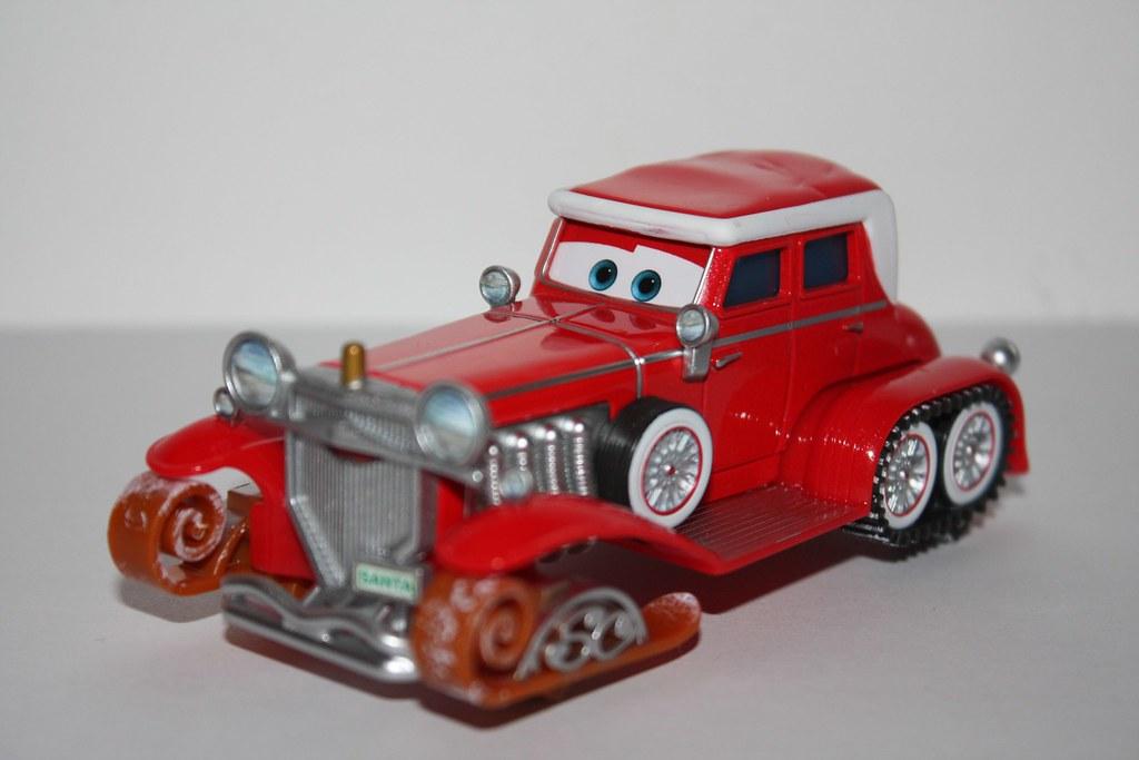 Santa car (Mater saves Christmas) | Cristocars | Flickr