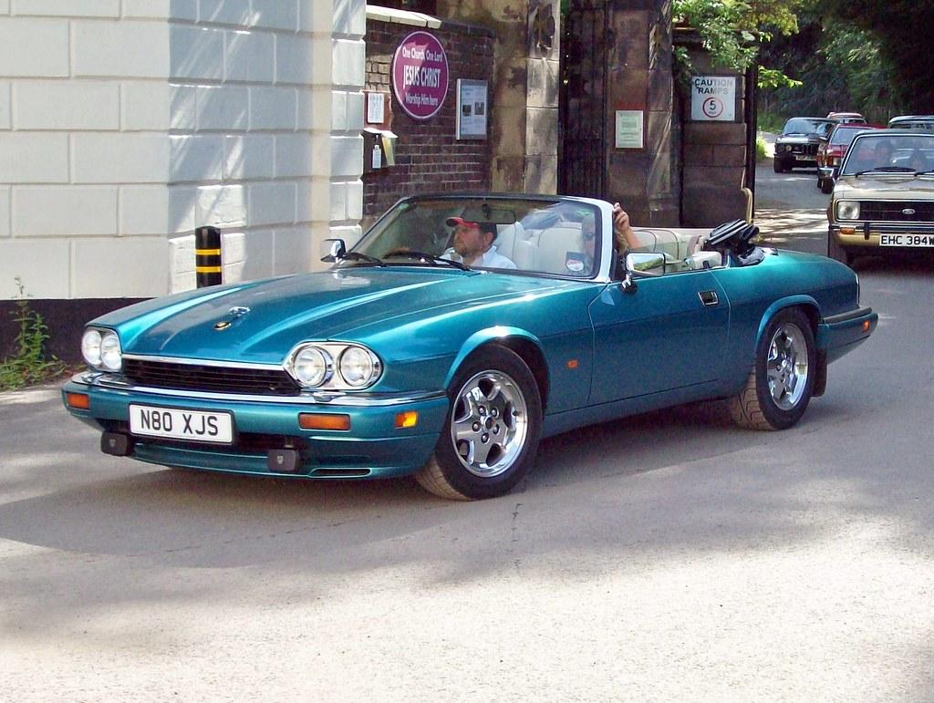 93 jaguar xjs convertible 1991 96 jaguar xjs convertible flickr. Black Bedroom Furniture Sets. Home Design Ideas