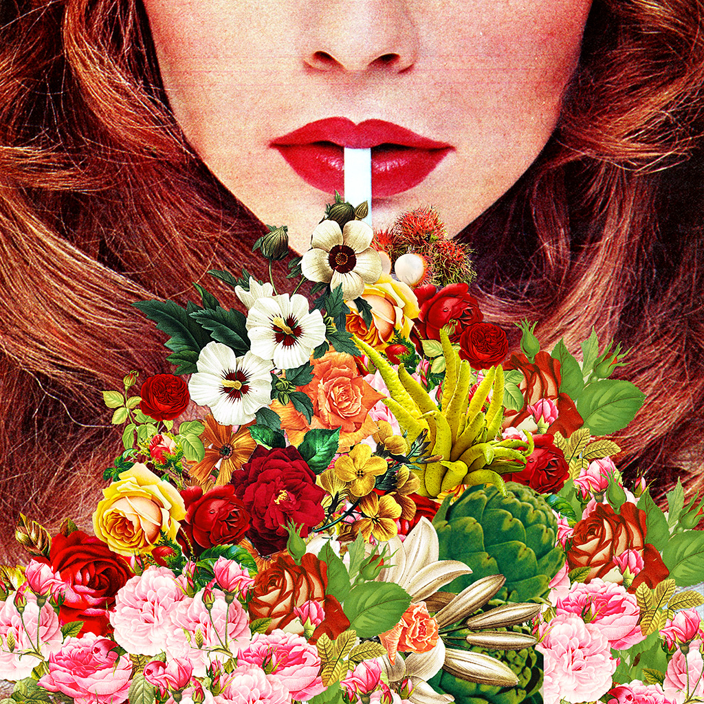 "Forum >> Floral Smoothie | Printable up to 17""x17"" 