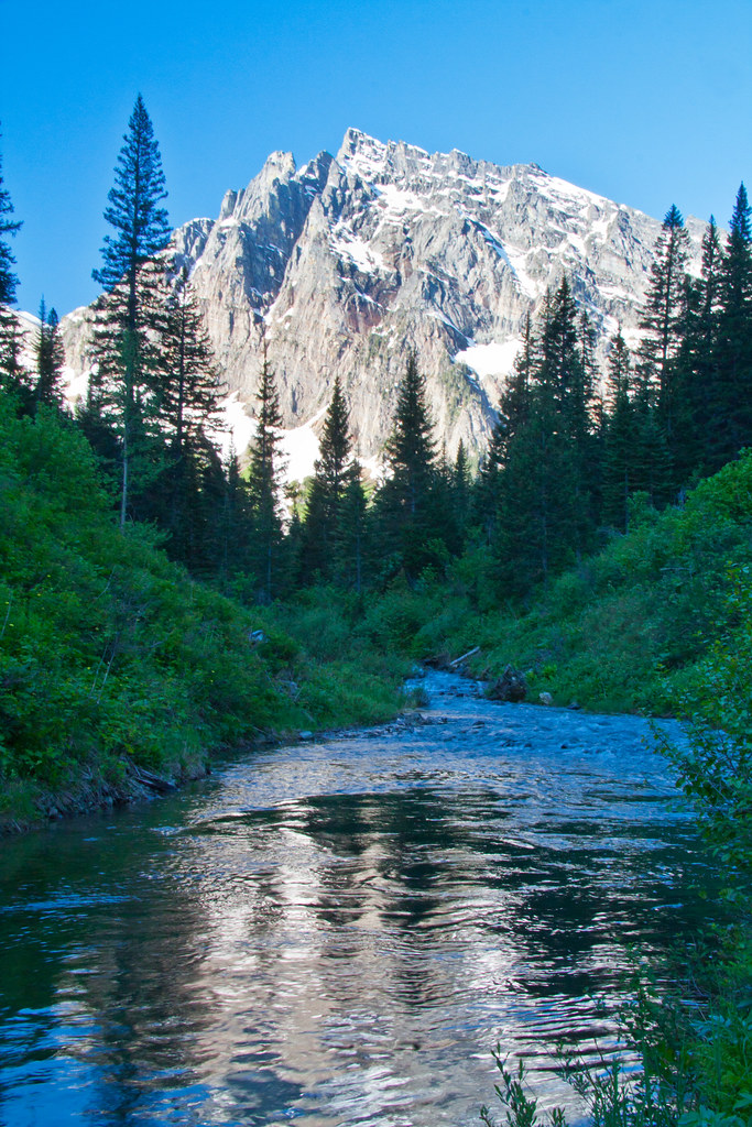 A-Peak   Along Granite Creek in the Cabinet Mountains