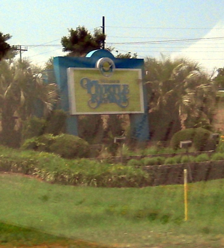 Where Is The Welcome To Myrtle Beach Sign