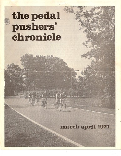 The Pedal Pushers' Chronicle March/April 1974 | by ddsiple