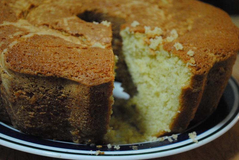 Making Pound Cake From Box Mix