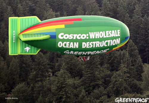 Aerial Message for Costco | by Greenpeace USA 2015