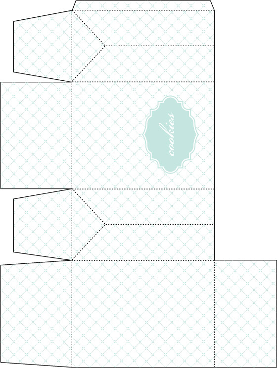 gable box template for cookie favors gable box template fo flickr