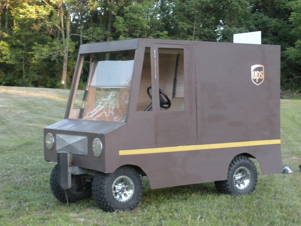 ups golf cart by slgckgc