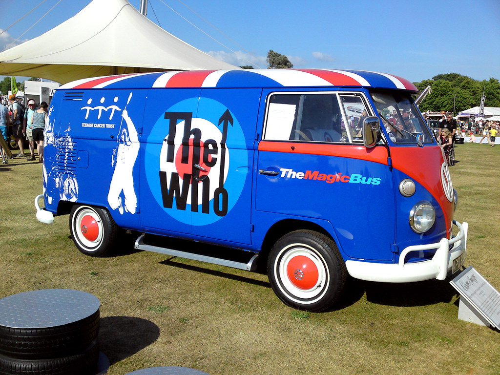 The Who Magic Bus Vw Camper Van Goodwood Festival Of