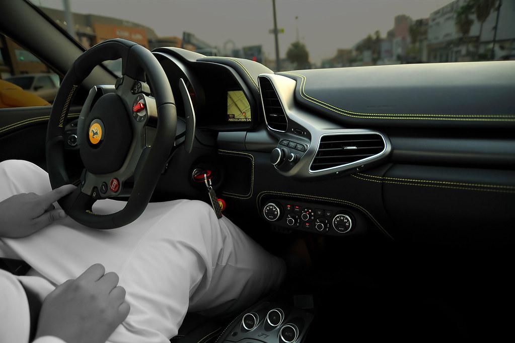 Ferrari 458 Italia Black Yellow Interior Explored Flickr