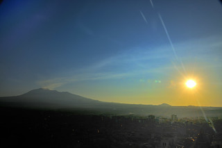 Mount Etna Volcano Dawn at Paternò Sicilia Italy - Creative Commons by gnuckx | by gnuckx