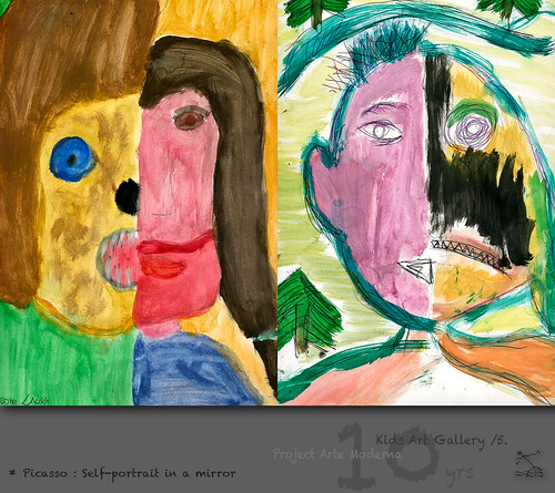 "Picasso Self Portraits For Kids Picasso: ""self-portrait in"