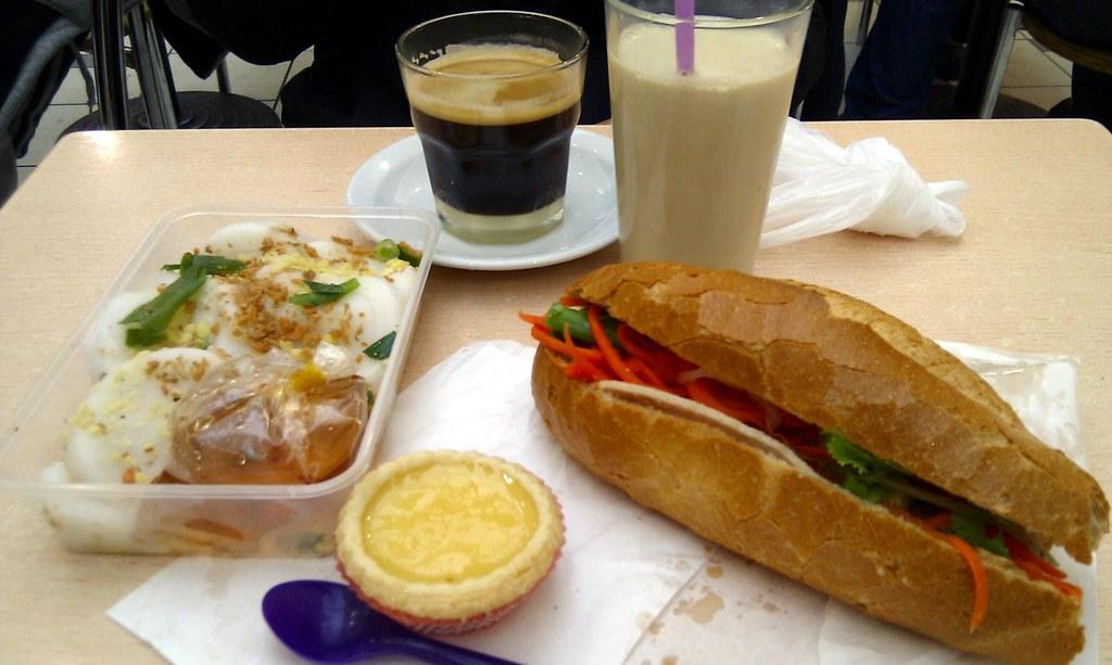 Cafe Banh Mi Menu