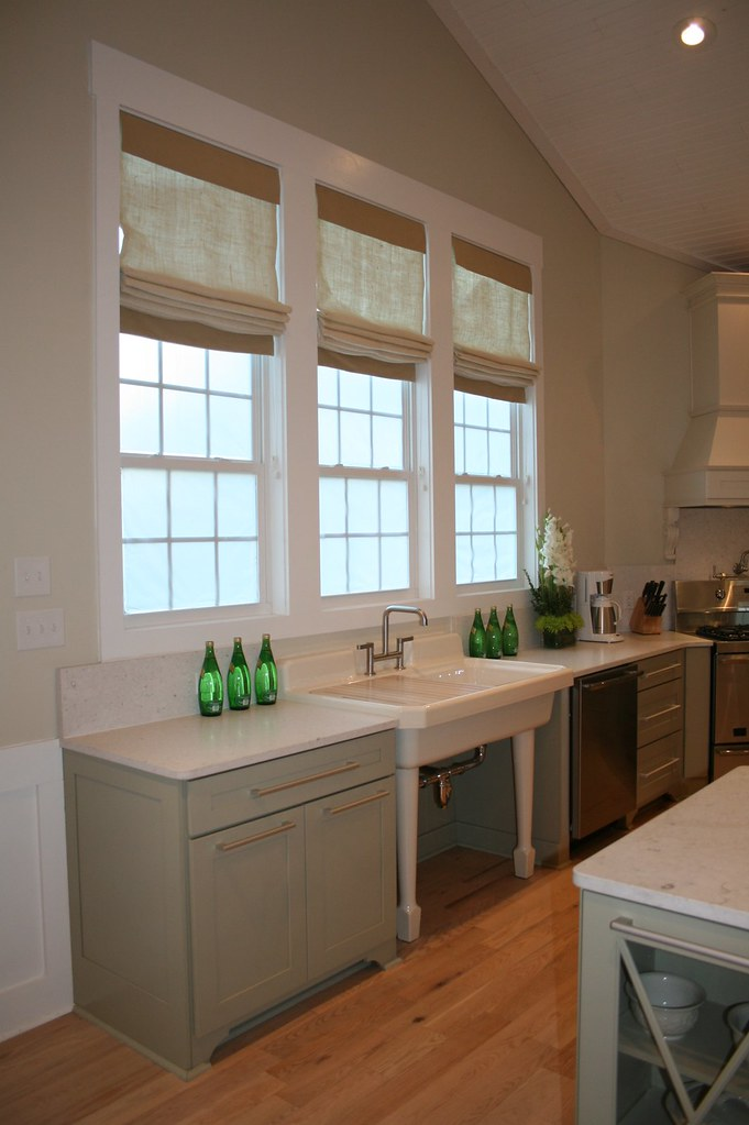 roman shades in the kitchen design folly flickr