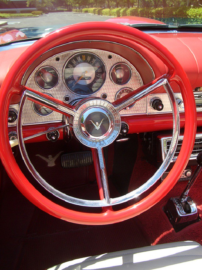 Bfe A B on 1957 Thunderbird Interior
