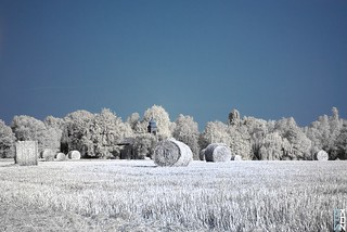 Little church in the field...on IR | by Stokaz