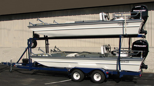 D And D Trailers >> Double Trailer | Rescue ONE Connector Boats are available wi… | Flickr