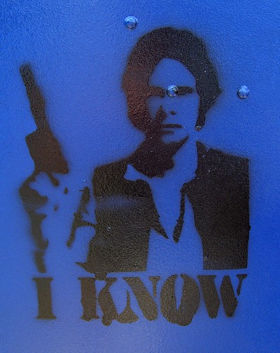 I Know -Han Solo | by walknboston