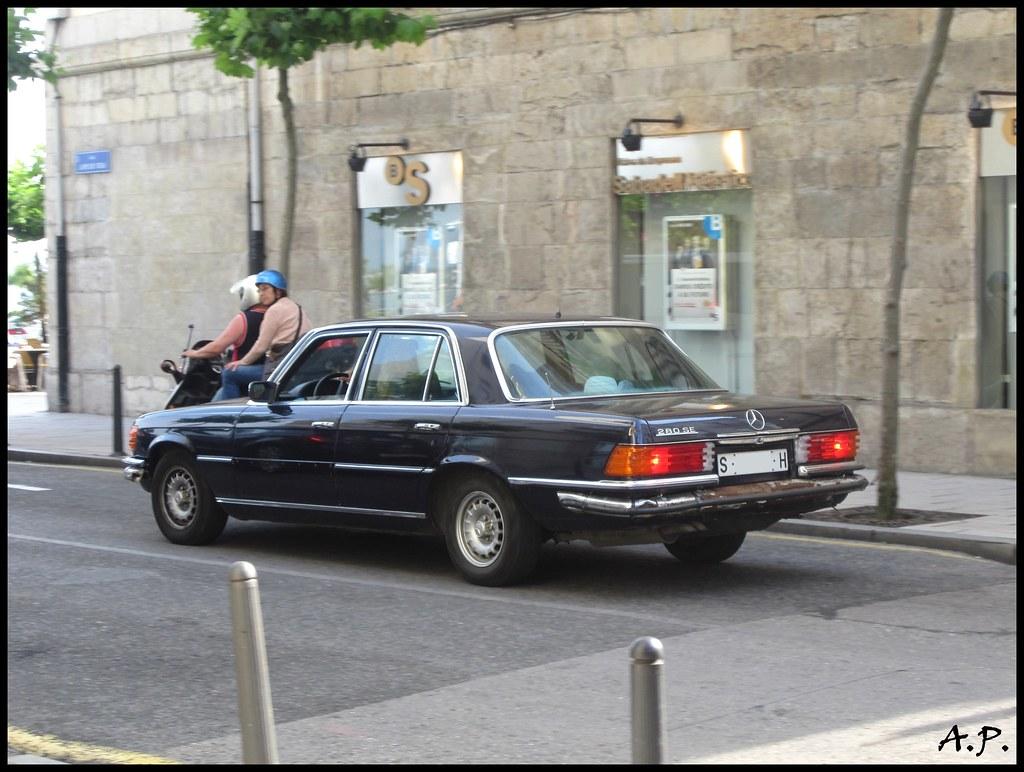1979 mercedes benz 280 se w116 not a very common car. Black Bedroom Furniture Sets. Home Design Ideas