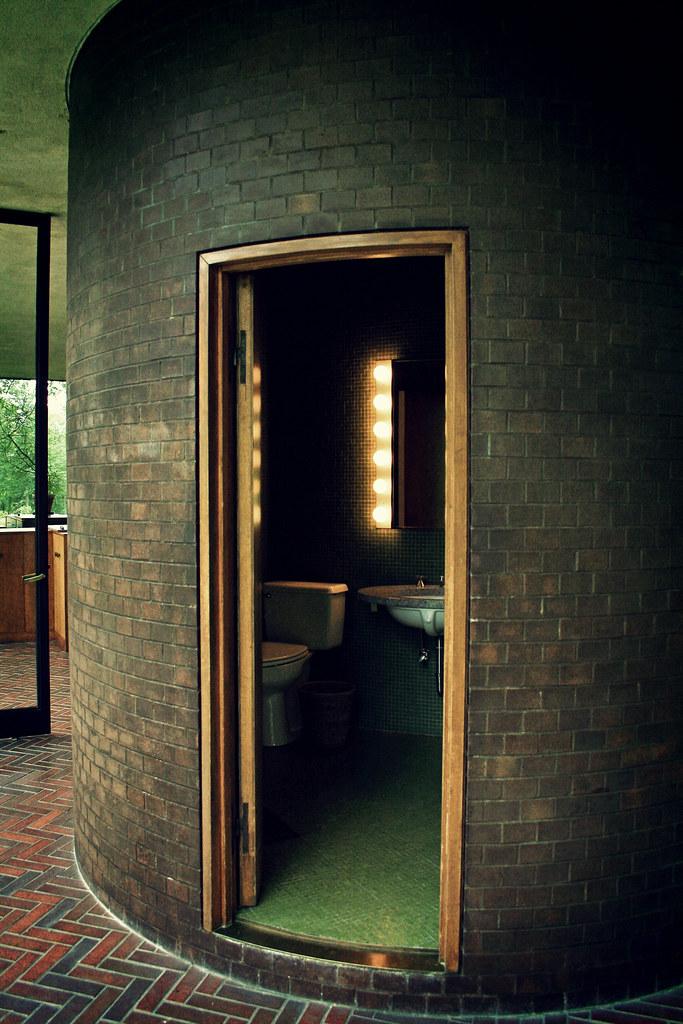 Cool Bathroom Philip Johnson Glass House Adrianna