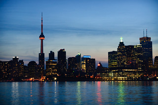 Downtown Toronto at Night | by Brian Guest (giant rebus)